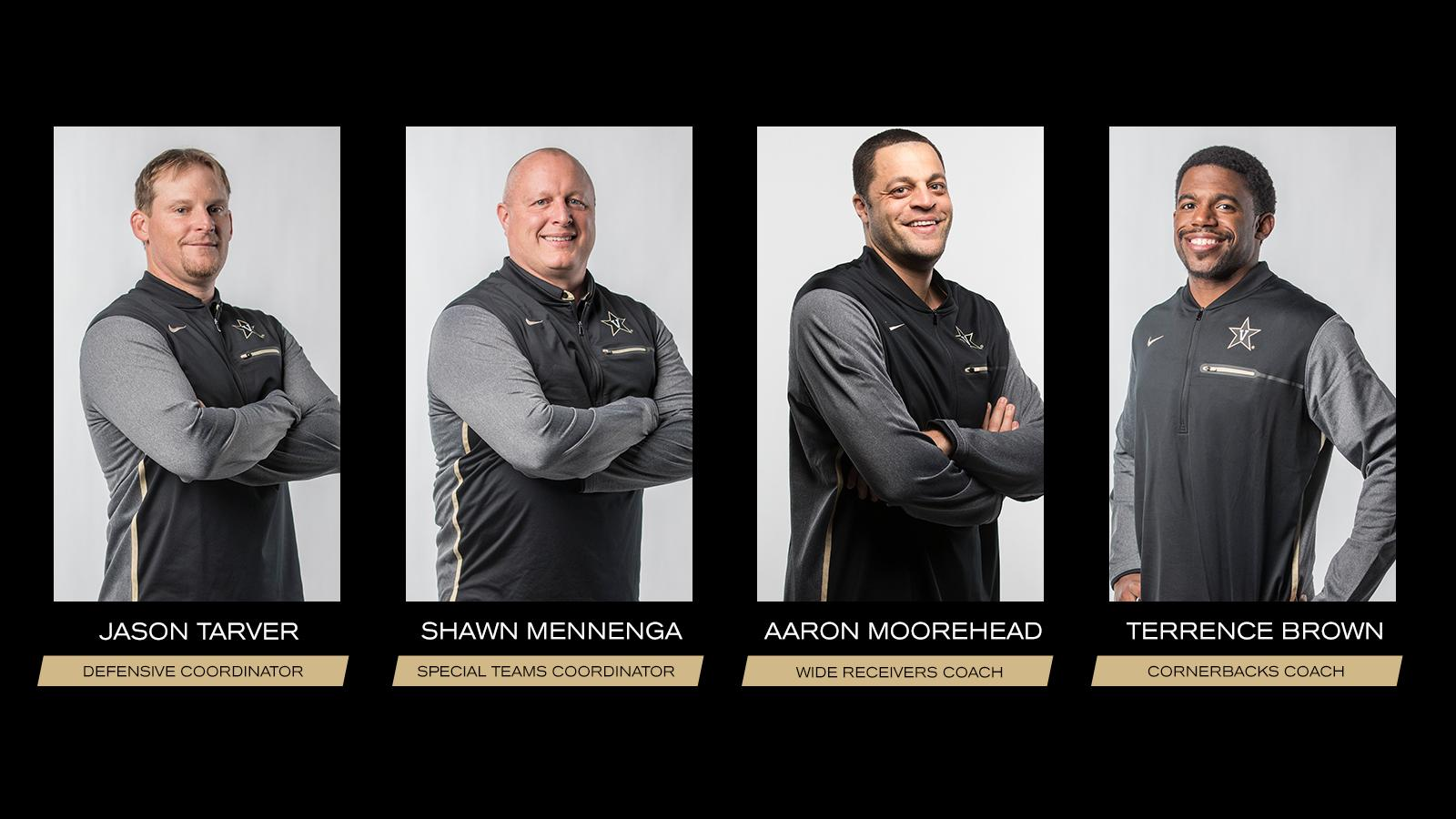 Vanderbilt hires four new assistant coaches to Football staff