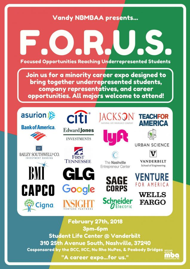 F.O.R.U.S. Minority Career Expo to take place Feb. 27