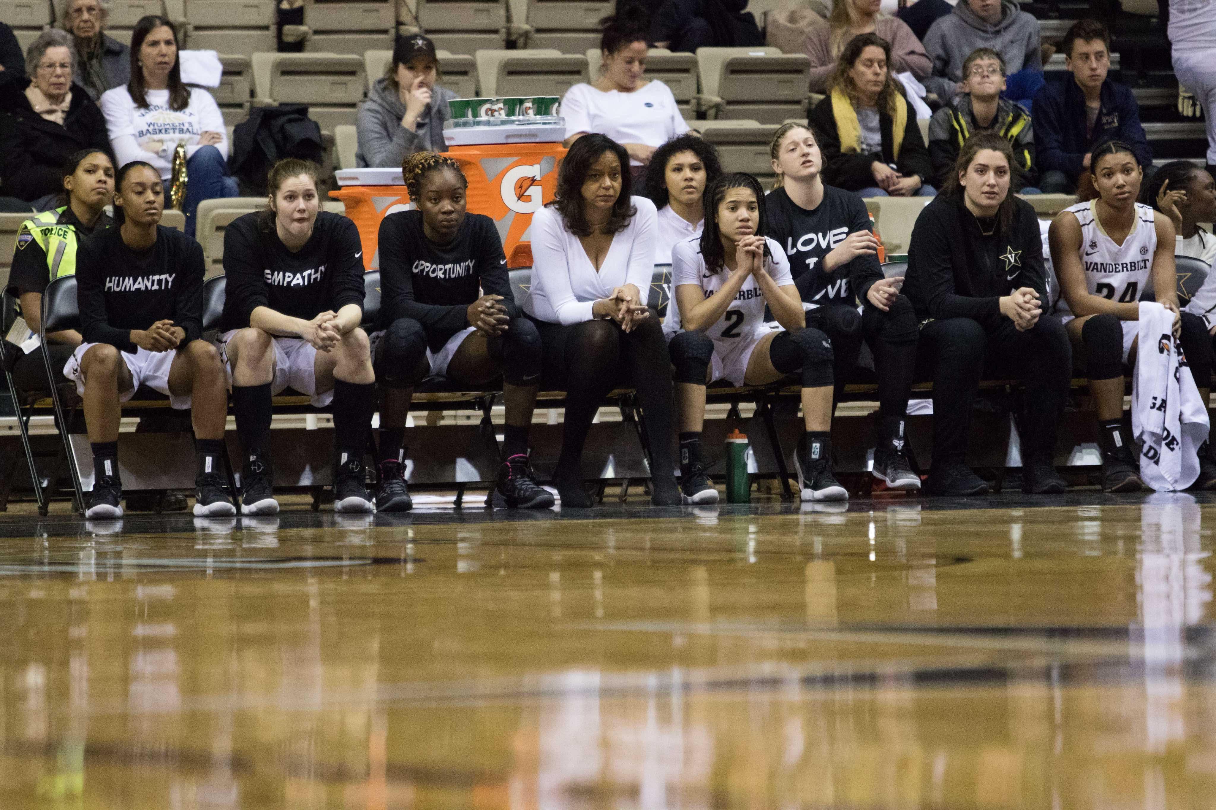 Bigger than basketball: Women's basketball players wear their causes