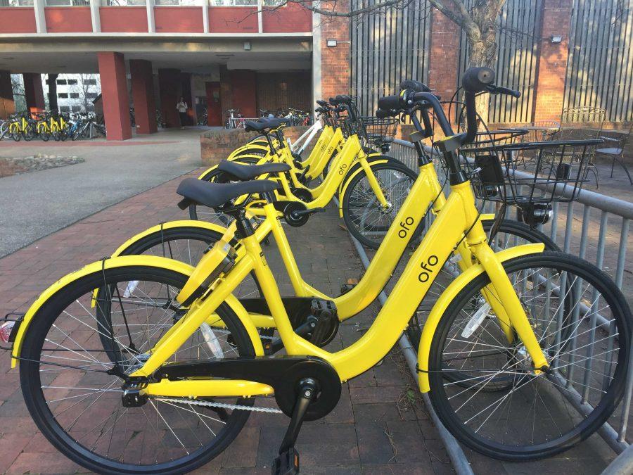 Dockless bike share program ofo comes to Vanderbilt