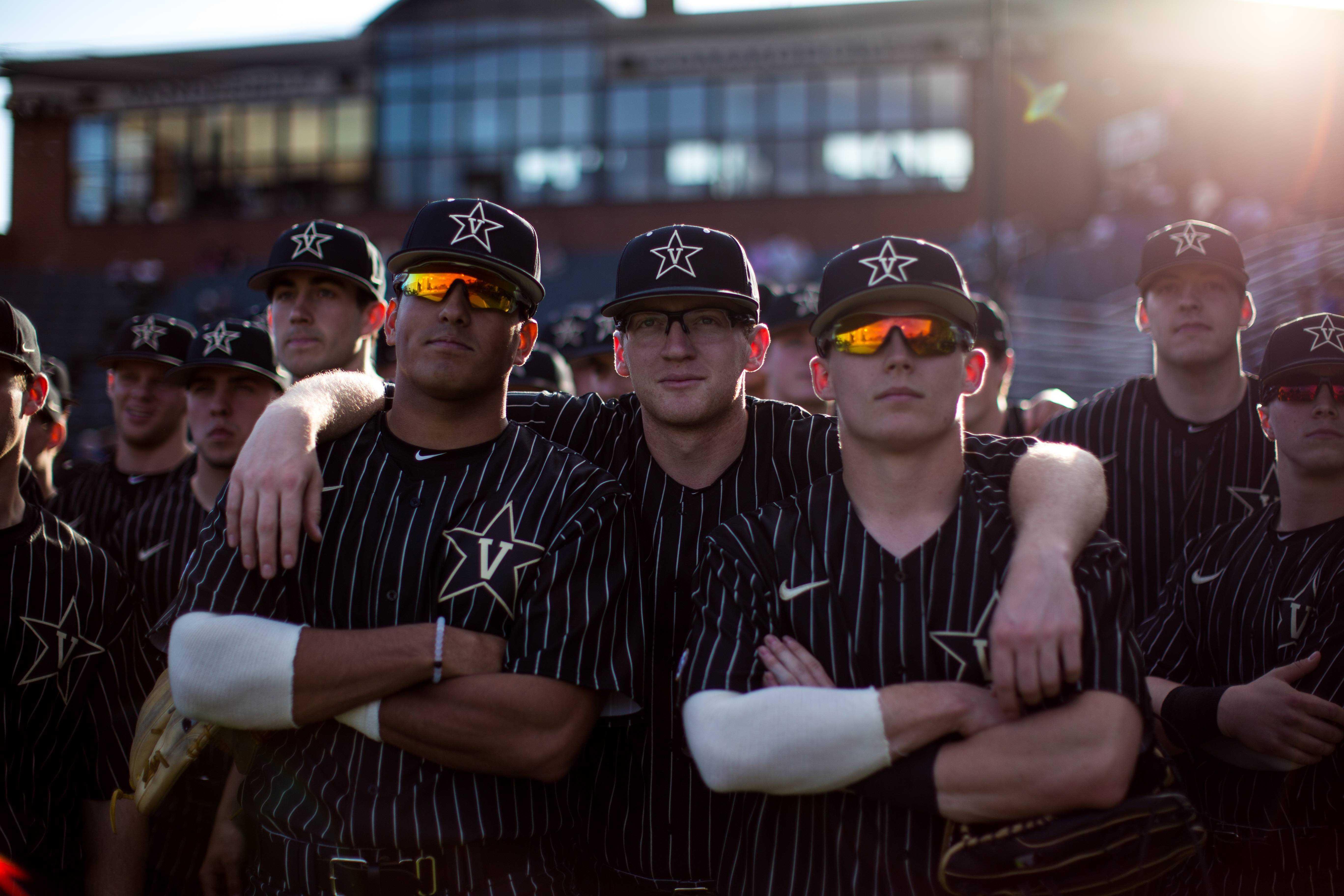 Vanderbilt Baseball hosts Oklahoma State in scrimmage