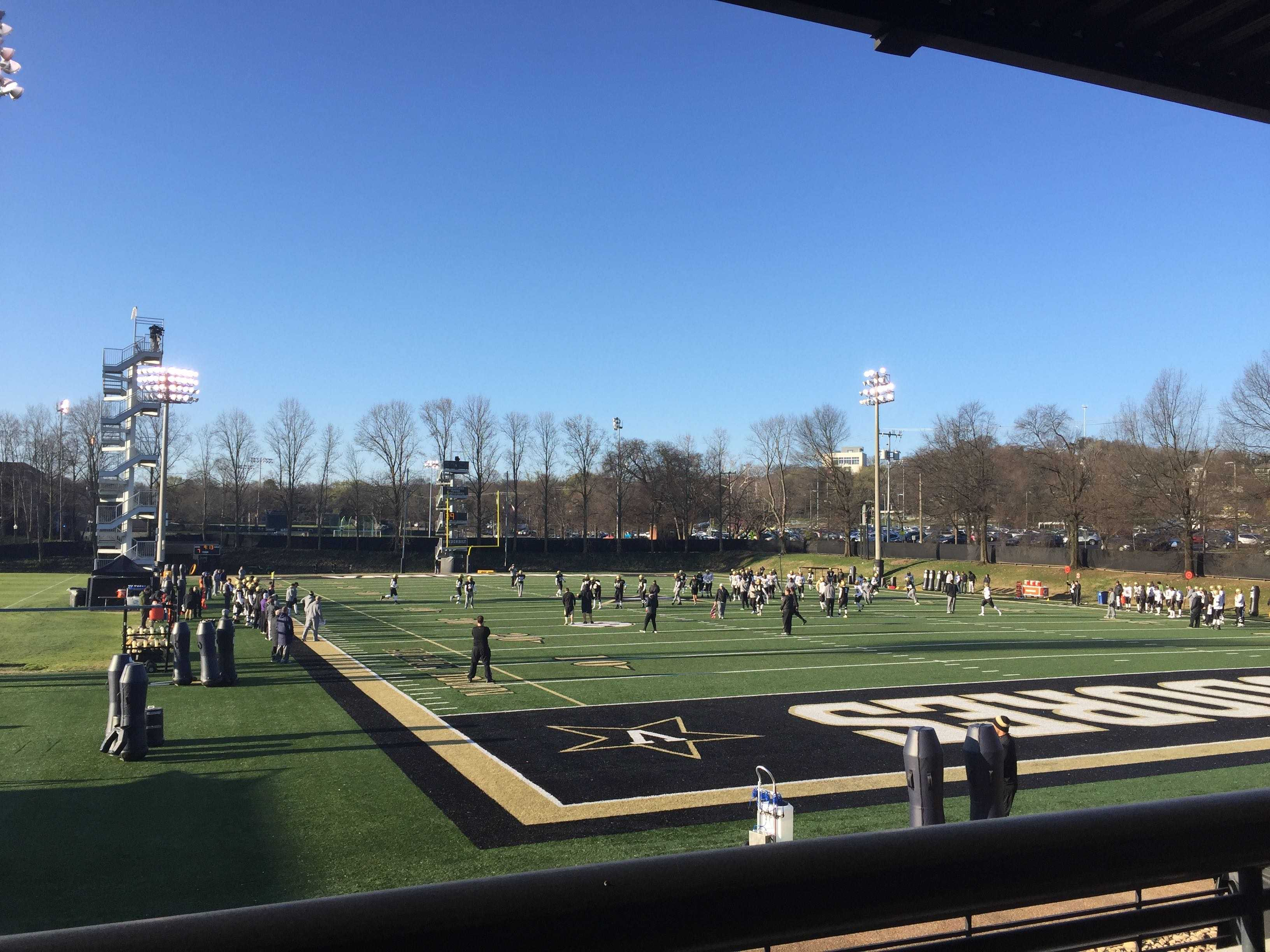 "Vanderbilt Spring Practice Notebook: New faces, same ""Black Death"" defense"