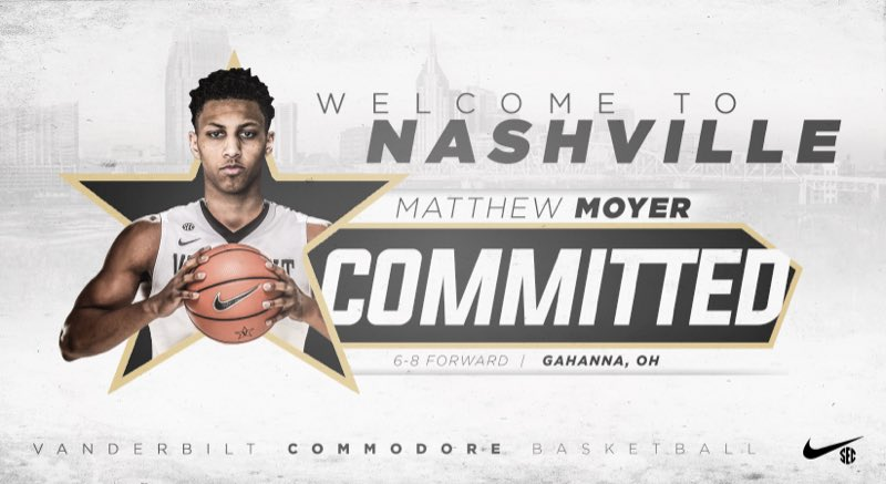 Vanderbilt Basketball's Matthew Moyer granted immediate eligibility by NCAA