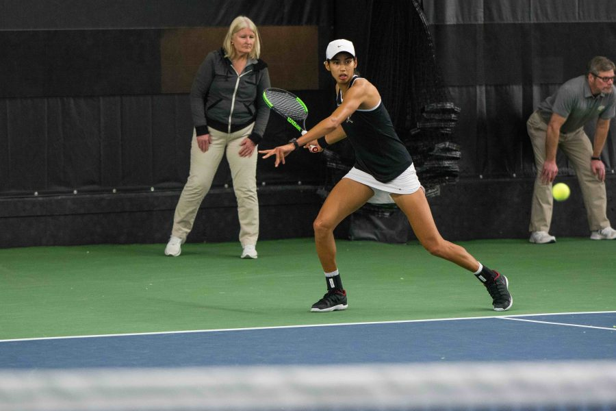The+Vanderbilt+Women%27s+Tennis+Team+faces+off+against+Nebraska+on+Friday%2C+January+26%2C+2018.+%28Photo+by+Brent+Szklaruk%29