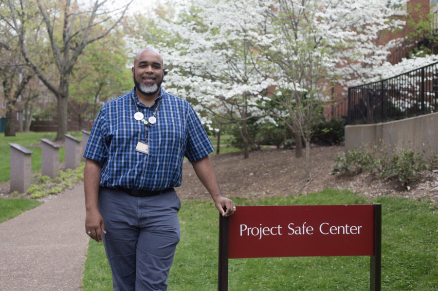 Otis McGresham, a Project Safe Prevention Educator and Victim Resource Specialist, answered Rachel's call to the center's 24-hour hotline.