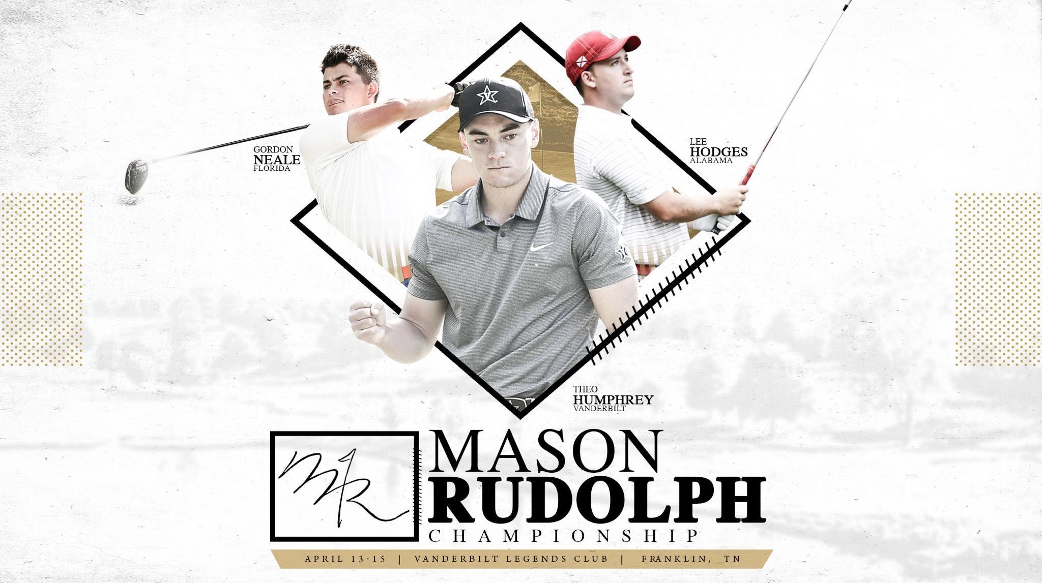 Men's Golf riding high going into Mason Rudolph Championship