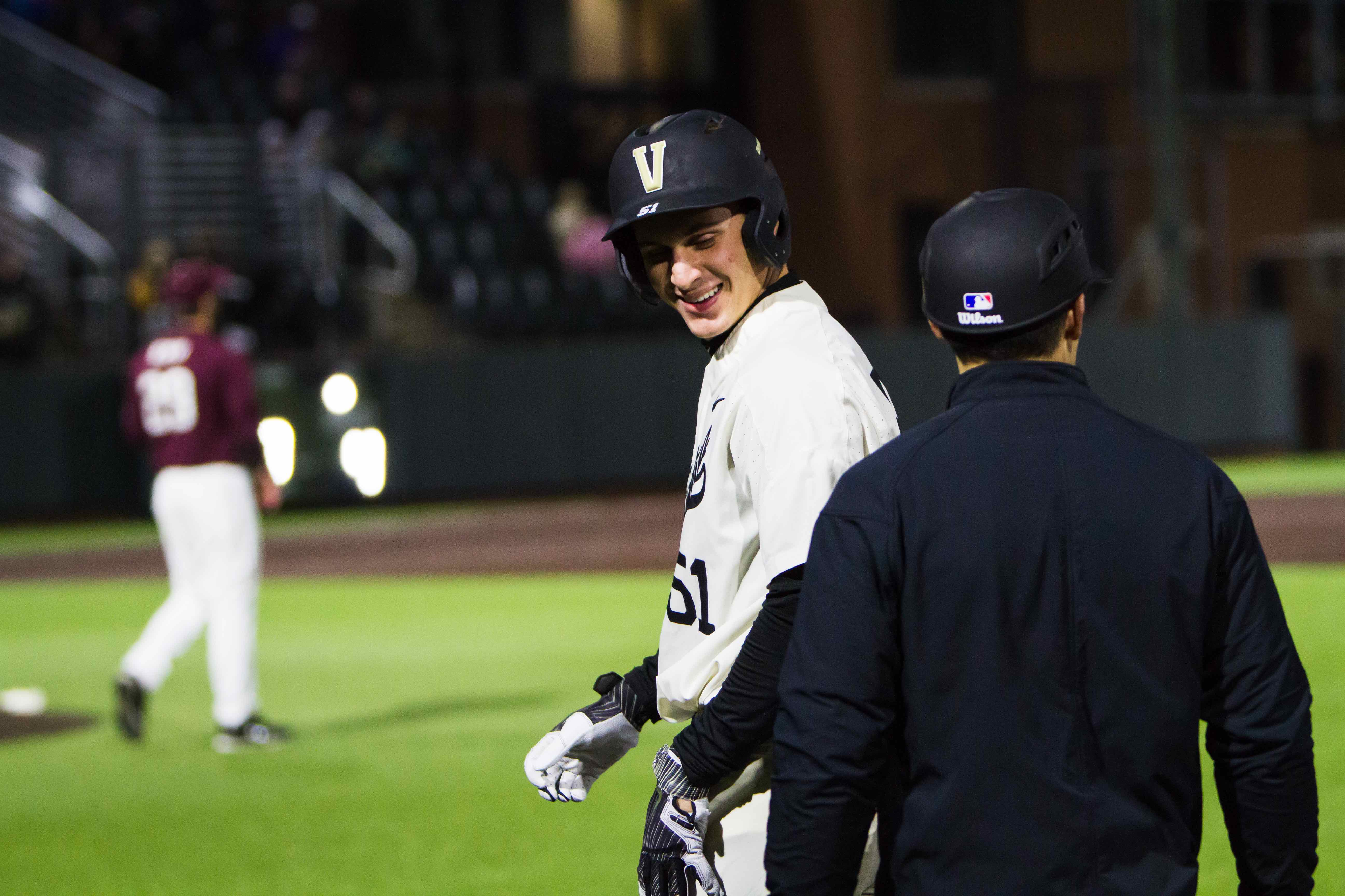 Bleday, Commodores show typical Vanderbilt toughness to force Game Three