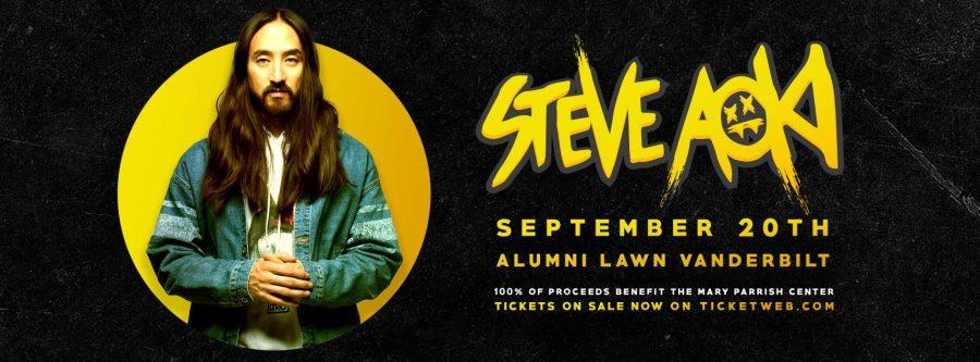 Steve Aoki to headline Lights on the Lawn 2018