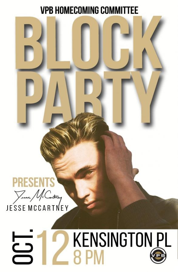Jesse+McCartney+to+perform+at+Homecoming+Block+Party