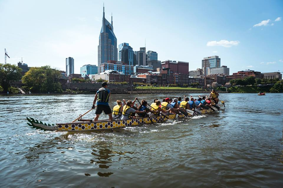 Celebrate the Cumberland River Dragon Boat Festival