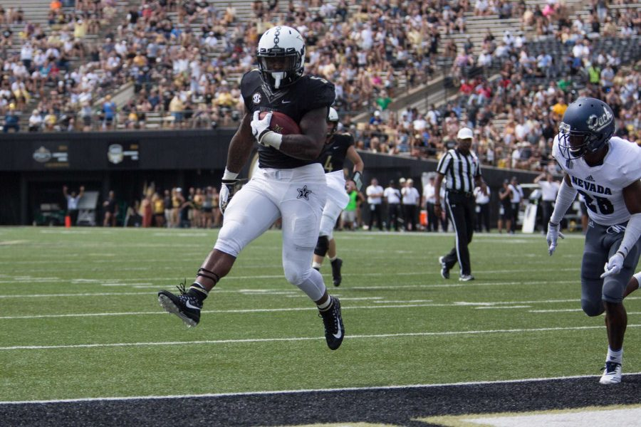 Vanderbilt+defeats+Nevada+41-10+on+September+8%2C+2018.+Photo+by+Claire+Barnett
