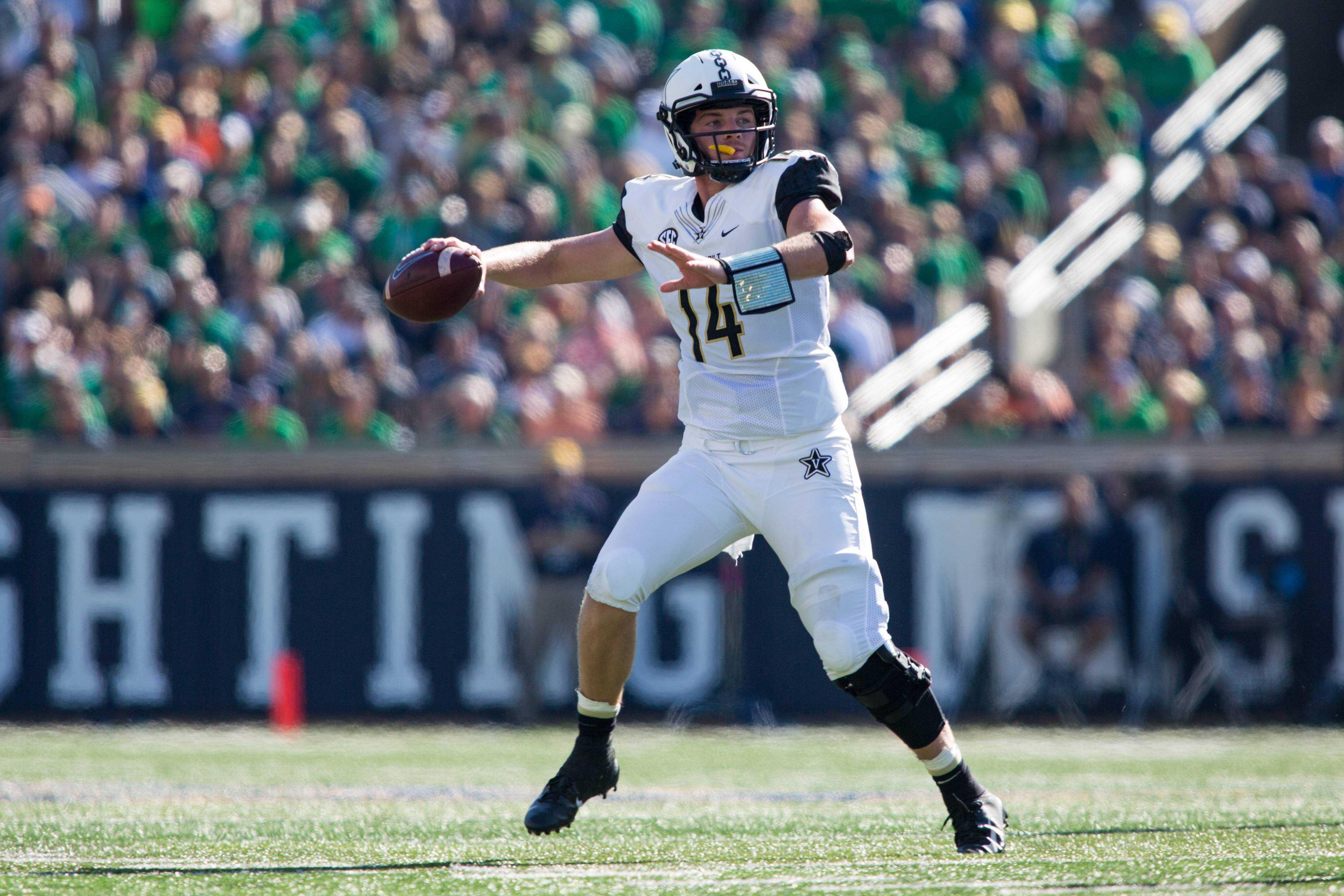 Vanderbilt makes waves on social media for effort at Notre Dame