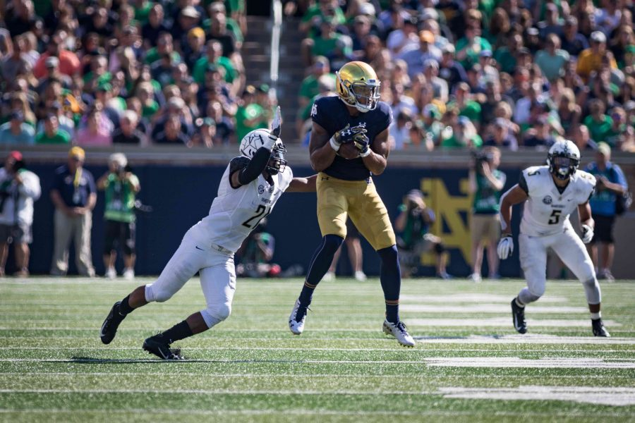 Vanderbilt+plays+Notre+Dame+on+Saturday.+September+15%2C+2018.+%28Photo+by+Hunter+Long%29