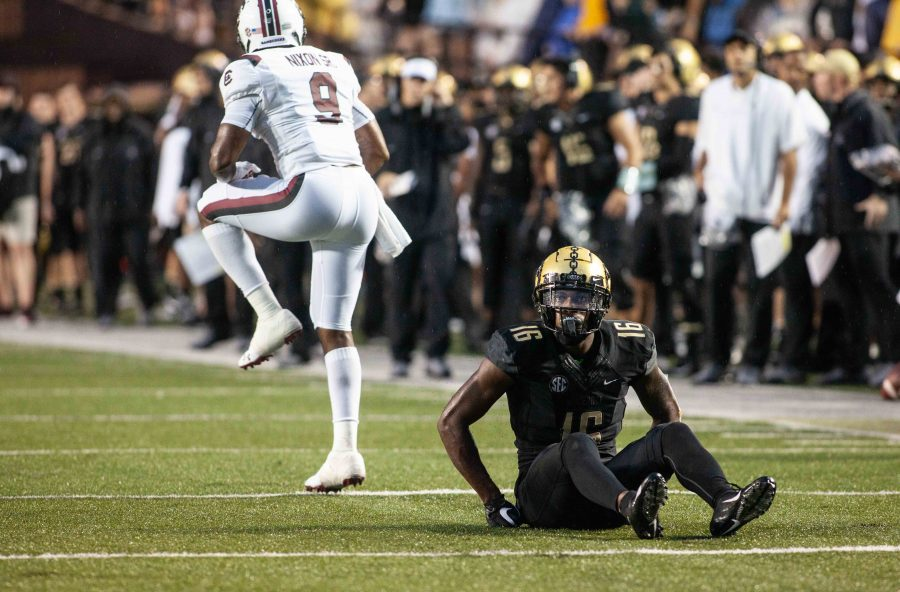Vanderbilt football plays University of South Carolina, on Saturday, September 22nd, 2018. Photo by Emma Stapleton