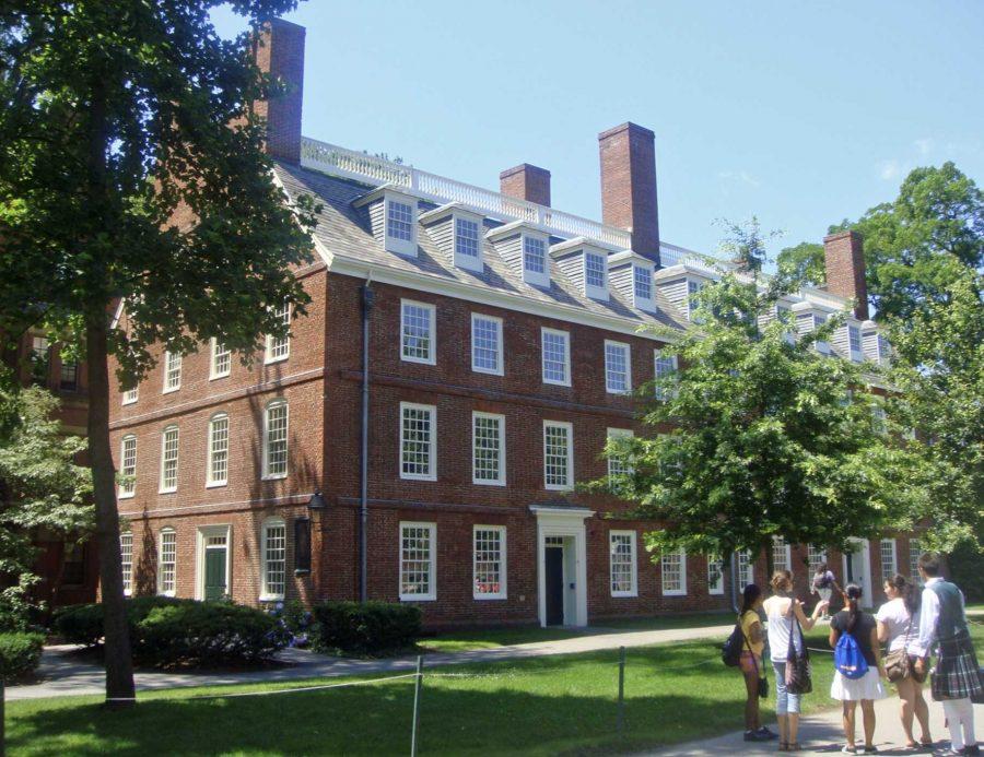 Massachusetts Hall at Harvard University. Photo credits: Mario Roberto Durán Ortiz.