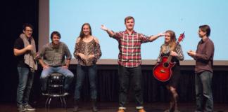 stand-up showdown at Vanderbilt