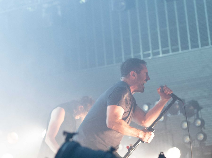 Nine Inch Nails performs at Ascend Ampitheater, Sep. 29, 2018. Photo by Madison Lindeman