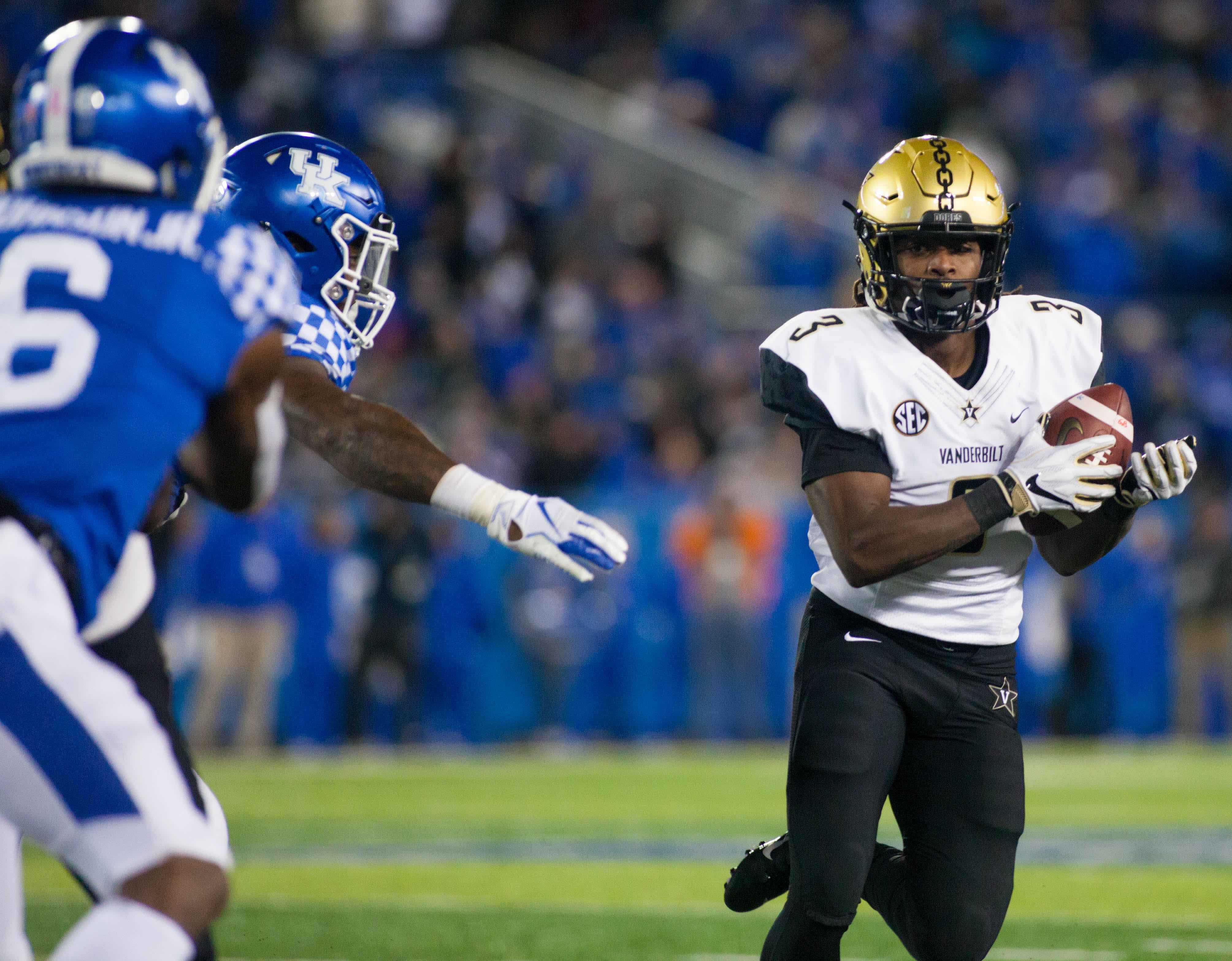 Vanderbilt dismantled by Kentucky, 38-14