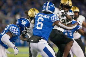 Commodores look to slow down Kentucky Wildcats' rushing attack this Saturday