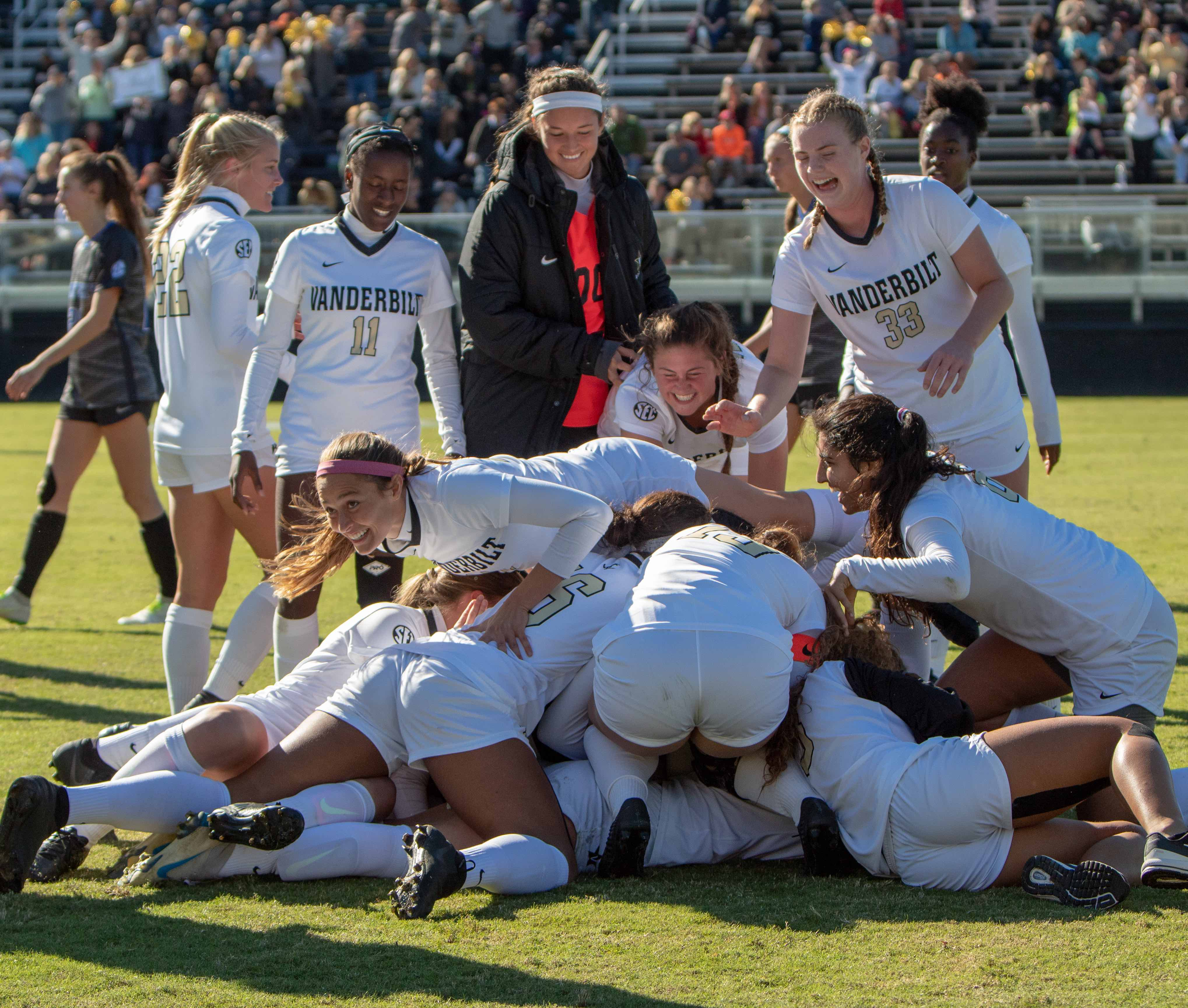 Vanderbilt Women's Soccer beats Kentucky to clinch the SEC. October 21, 2018. Photo by Madison Lindeman