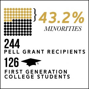 Vanderbilt class of 2022 Diversity