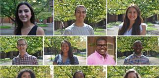 Vanderbilt's 2018 Top Ten Outstanding Seniors