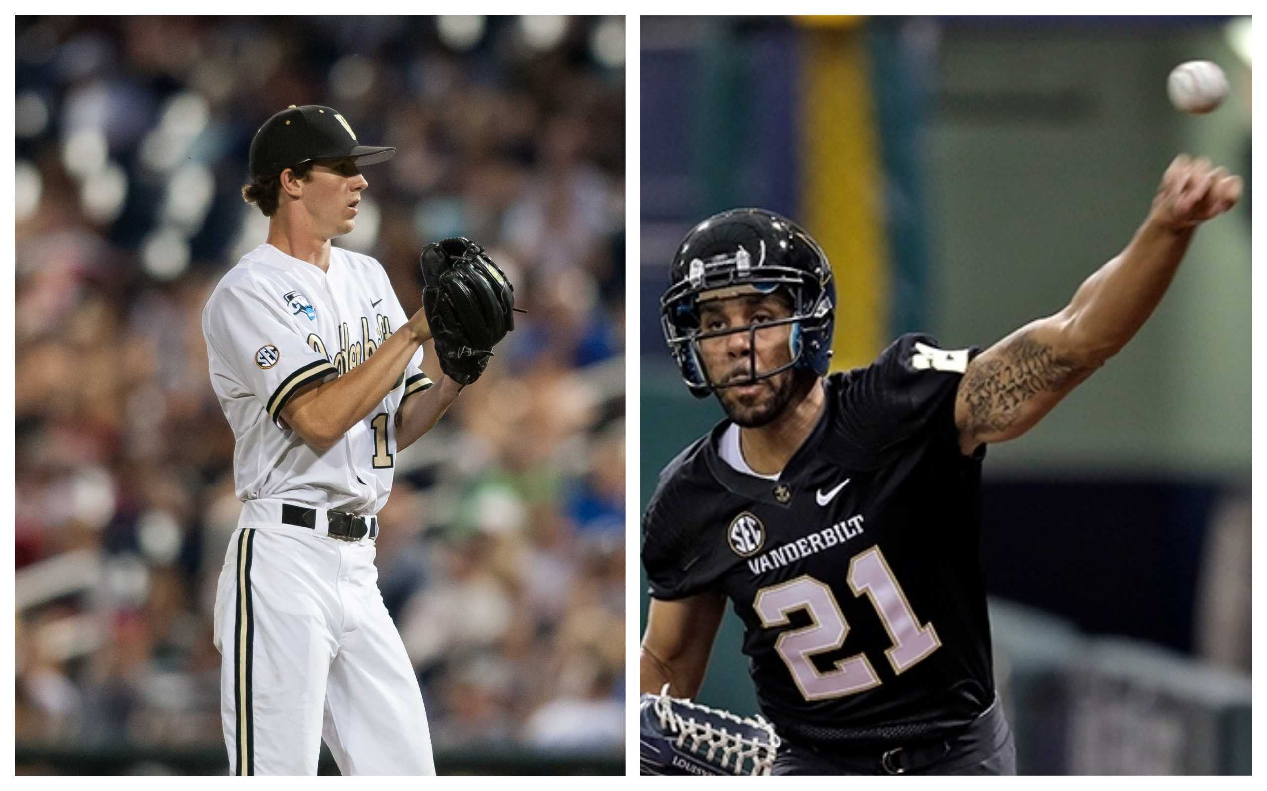Photos via Vanderbilt Athletics and USA Today Sports