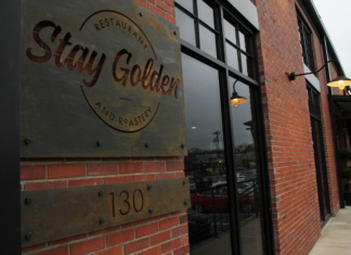 Stay Golden coffee