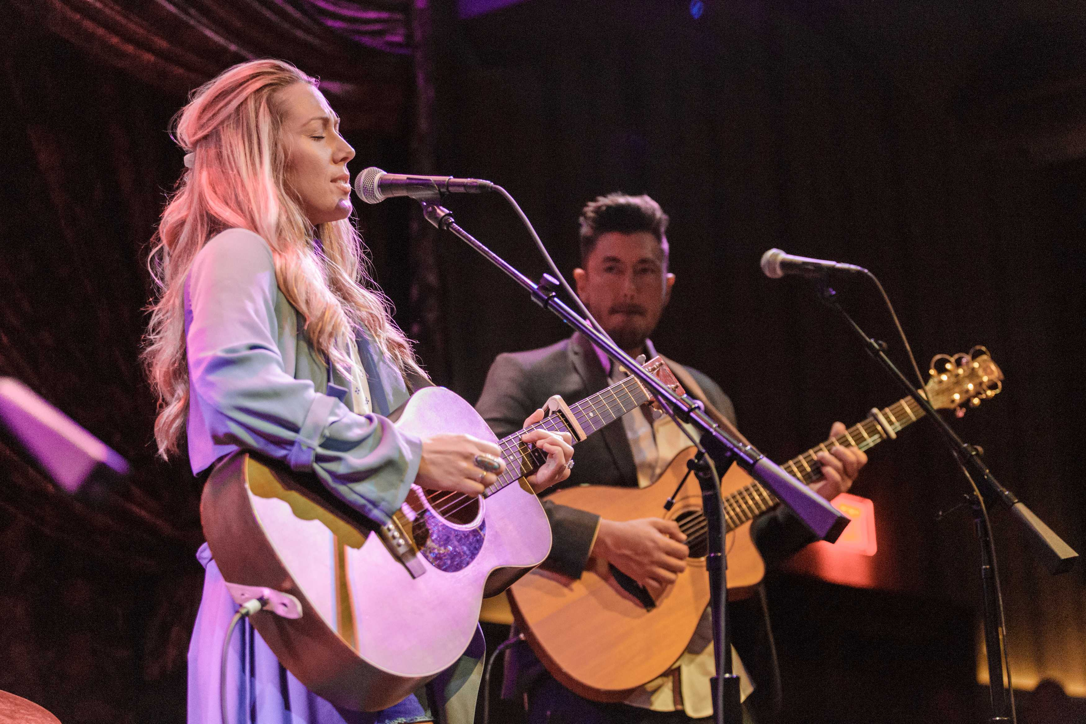 Introducing Colbie Caillat and her new band, Gone West