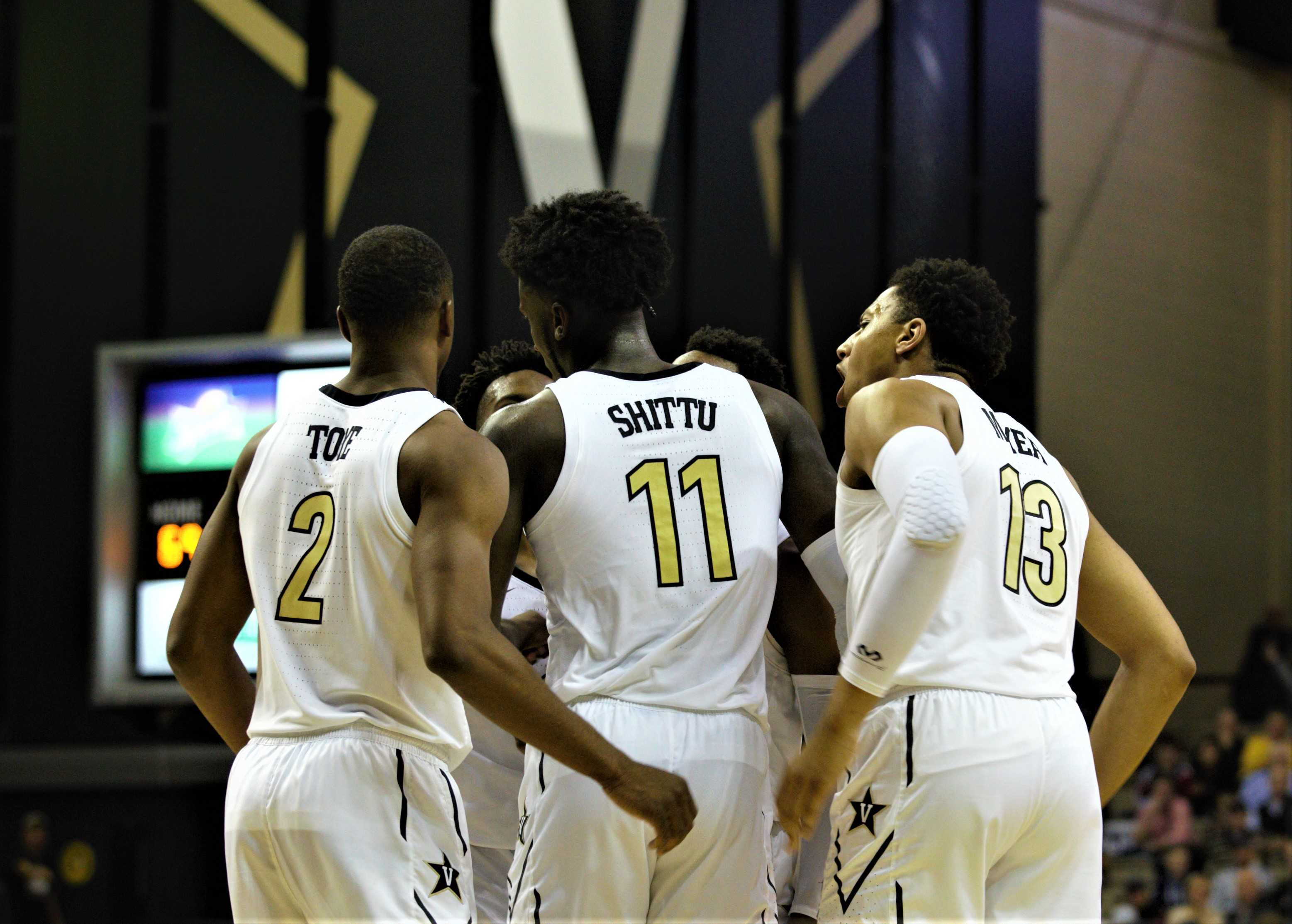 Vanderbilt defeated Savannah State on Tuesday night 120-85 to move to 5-1 on the season (Photo by Shun Ahmed.)