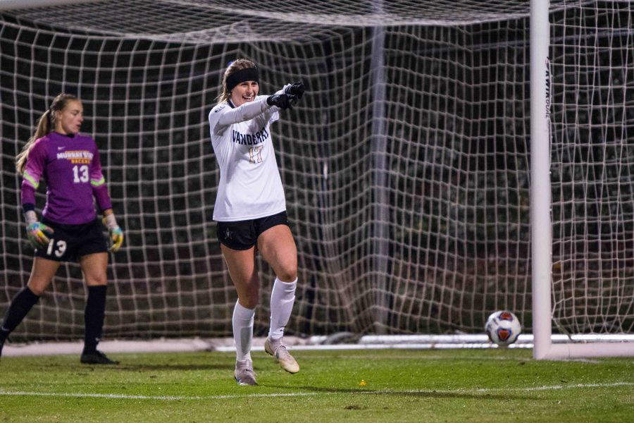 The Vanderbilt Commodores win 4-0 at home, on November 10th, 2018. Photo by Brent Szklaruk.