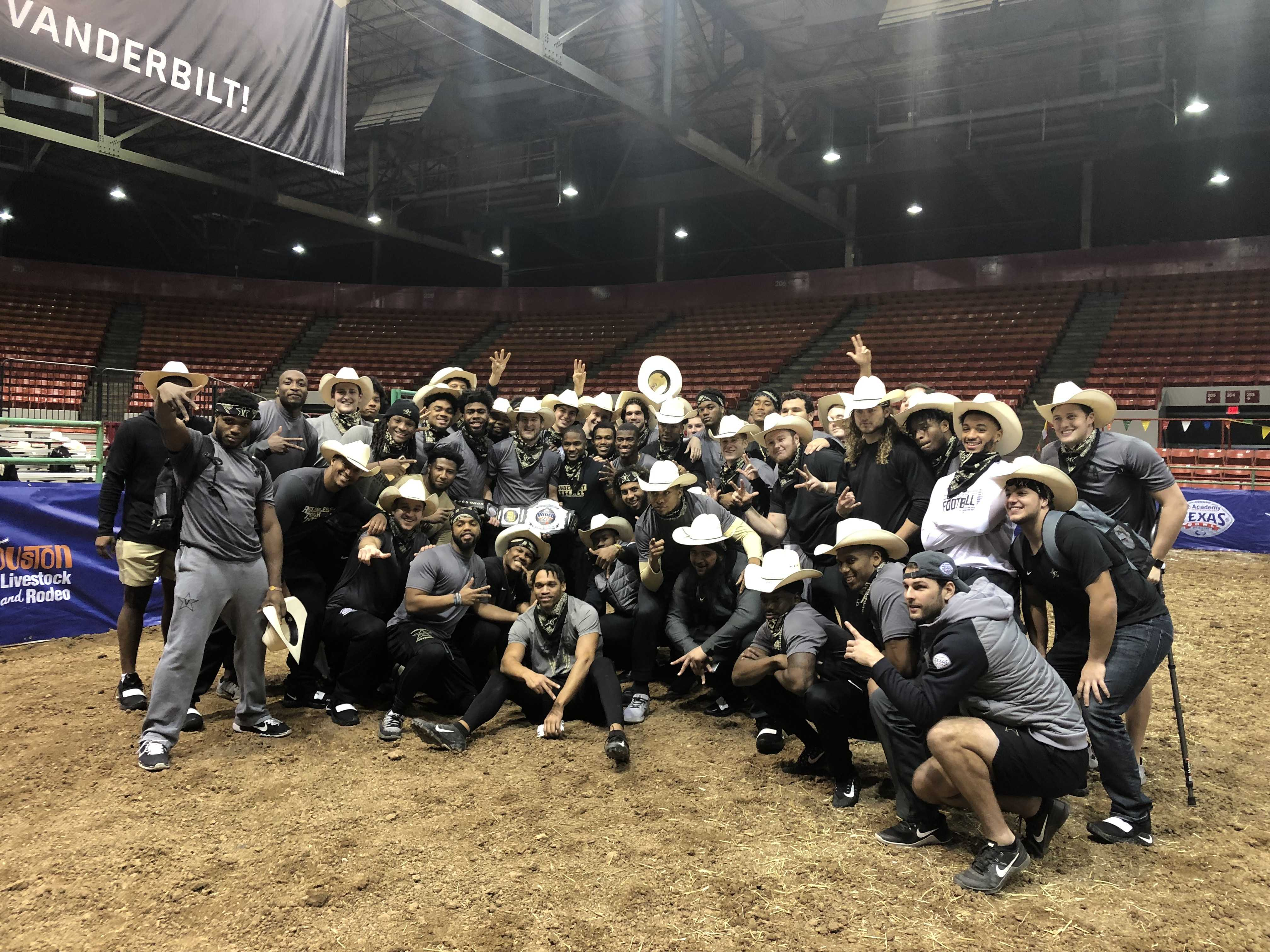 Vanderbilt wins the Rodeo Bowl on December 23, 2018 (Photo by Betsy Goodfriend)