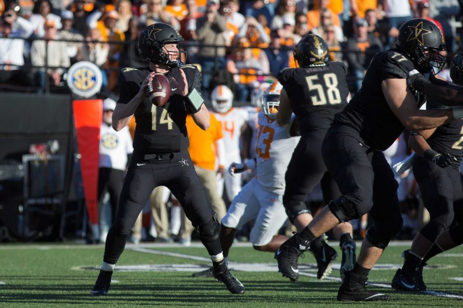 The+Commodores+defeat+the+Tennessee+Volunteers+in+football+for+the+third+year+in+a+row%2C+ensuring+Vanderbilt%27s+bowl+eligibilty.+The+final+score+was+38-13.+%28Photo+by+Claire+Barnett%29