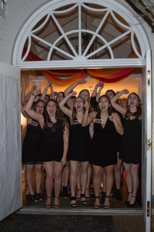 Vanderbilt women participate in Formal Sorority Recruitment on Friday, January 19, 2018. Photo by Claire Barnett // The Vanderbilt Hustler