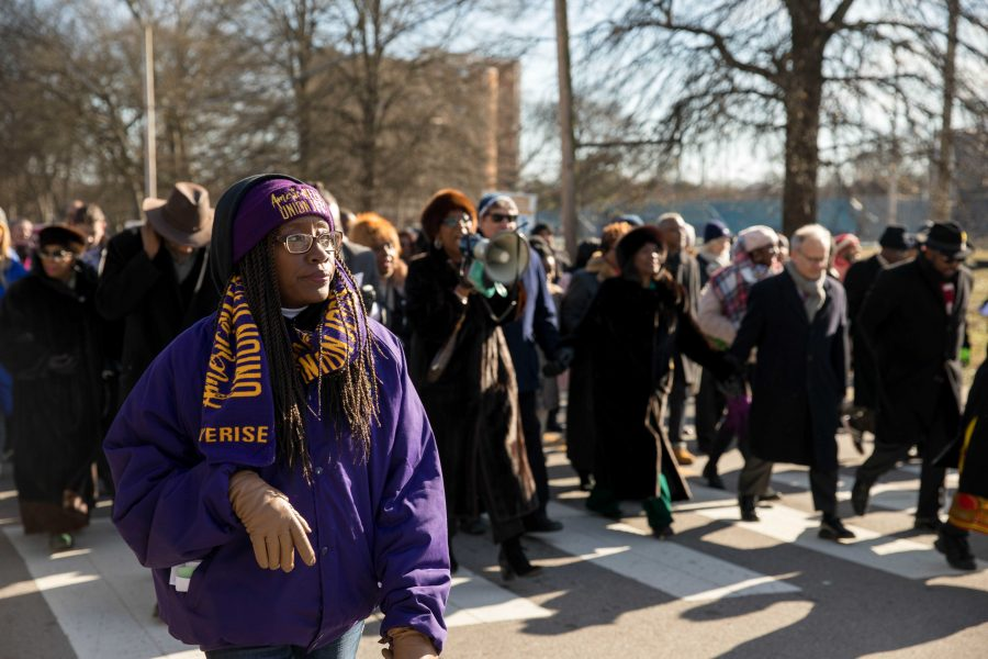 Vanderbilt+honors+Dr.+Martin+Luther+King%2C+Jr.+on+Monday%2C+January+21%2C+2019+by+marching+from+Jefferson+Street+to+TSU%2C+where+the+30th+Annual+MLK+Commemorative+Convocation+took+place.+The+event+featured+words+from+Congressman+Jim+Cooper%2C+Governor+Bill+Lee%2C+Mayor+David+Briley+and+Rev.Dr.+William+J.+Barber+in+addition+to+spoken+word+and+musical+performances.+%28Photo+by+Emily+Gon%C3%A7alves%29