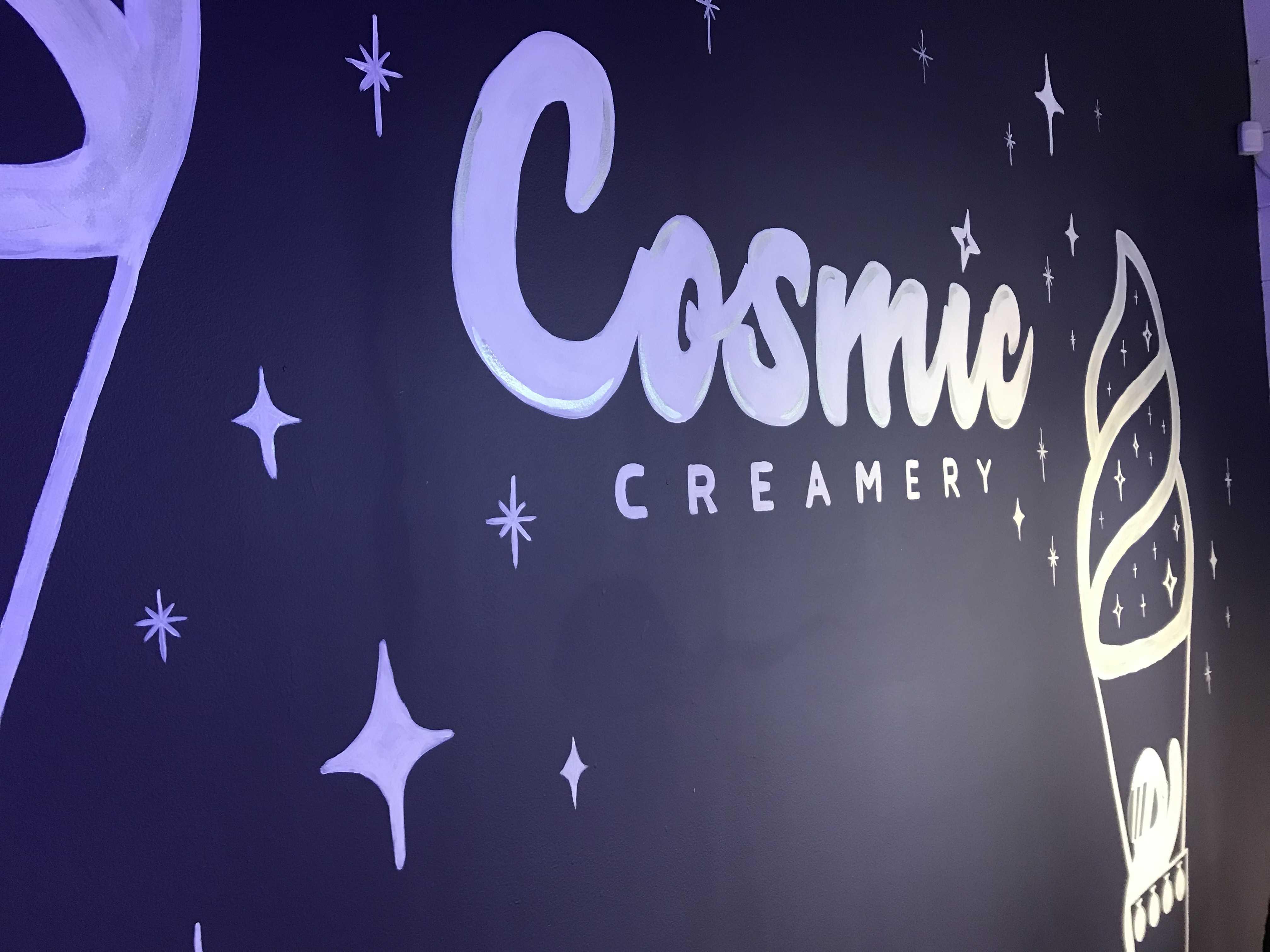 Cosmic Creamery, cosmic scenery