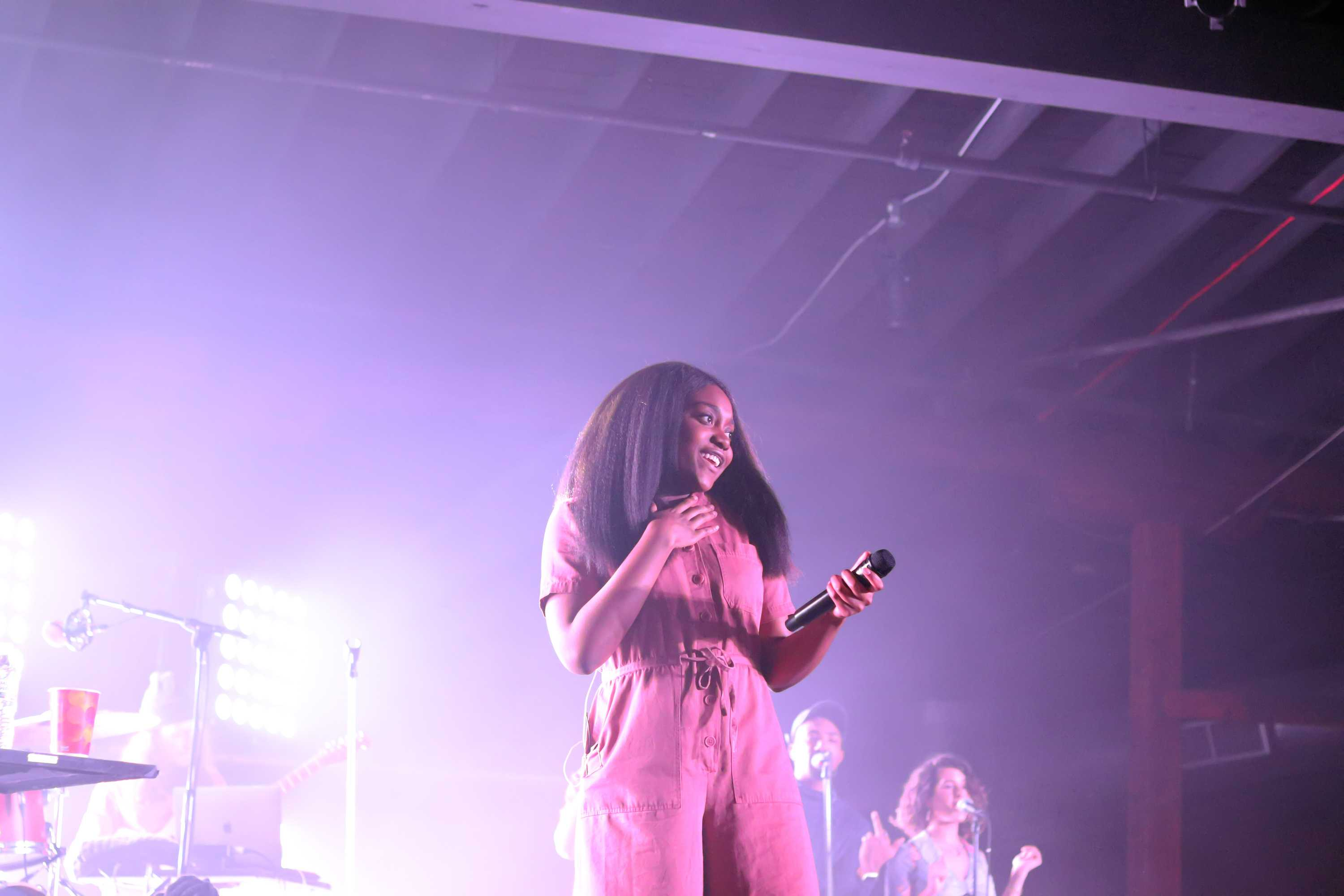Noname slyly shines in the Cannery Ballroom