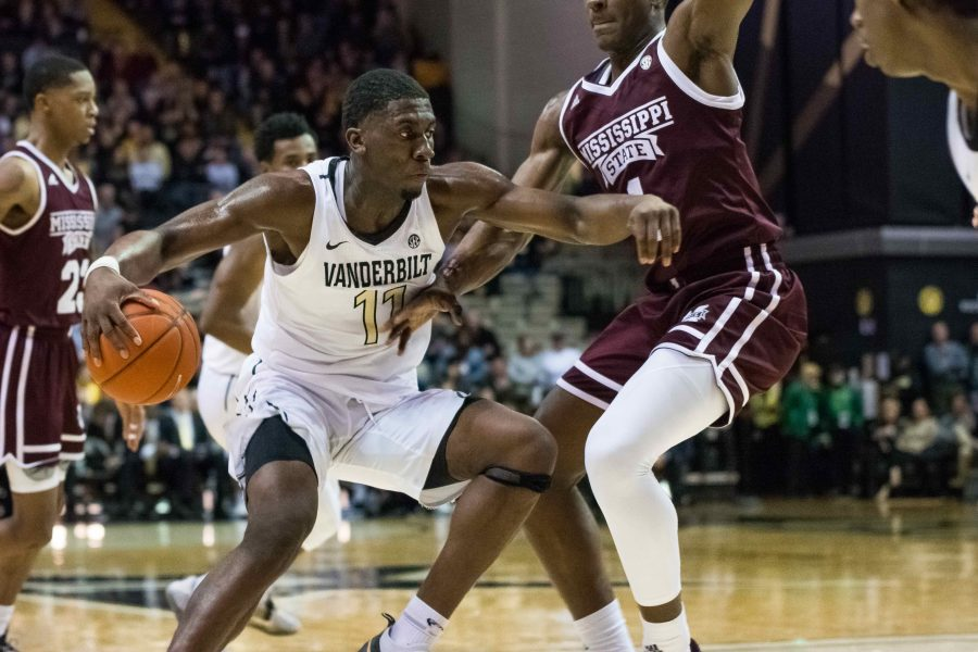 Vanderbilt basketball falls to Mississippi on Saturday, January 19th. (Photo by Brent Szklaruk)
