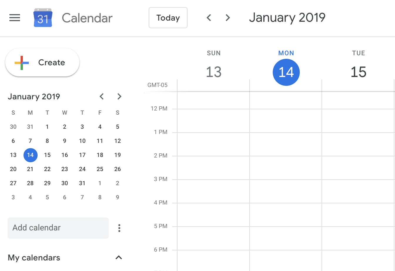 Google calendar settings permit access to student information