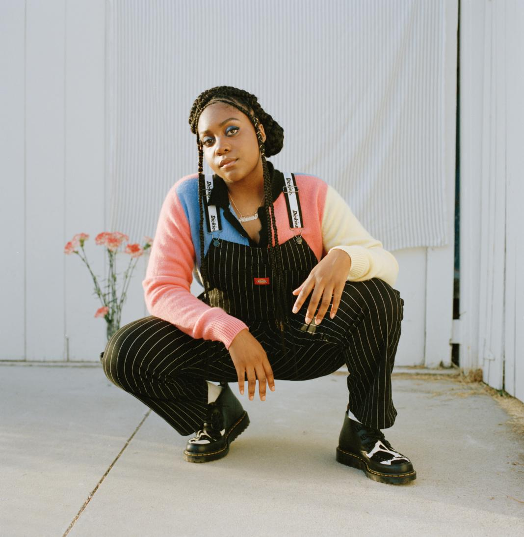Noname performing at the Cannery