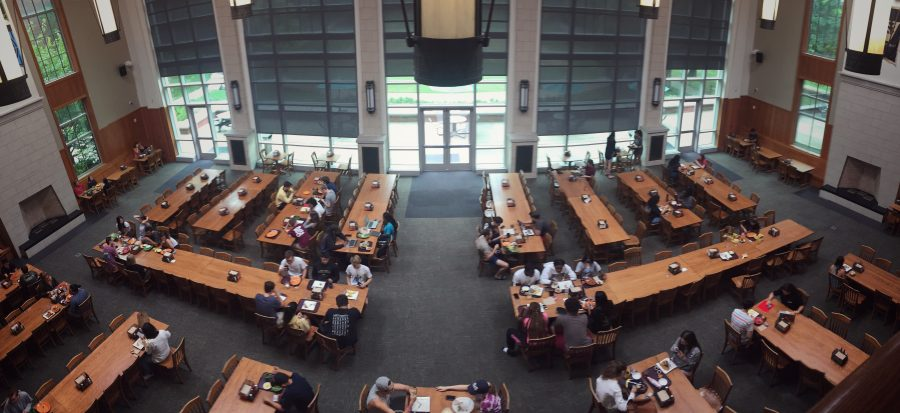 Commons Dining Hall on Peabody Campus.