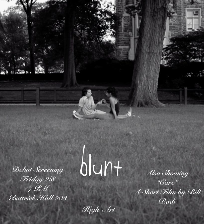 Student-produced+film%2C+%E2%80%98Blunt%2C%E2%80%99+to+debut+in+Buttrick+103