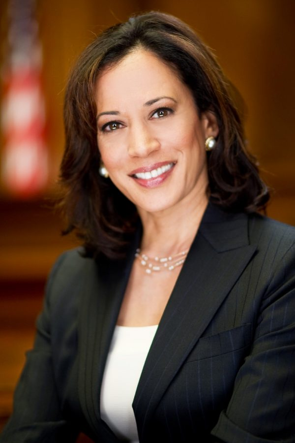 Kamala Harris's official photograph as California Attorney General. Photo by the California Attorney General's Office.
