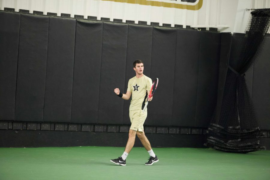 Vanderbilt Tennis competes against Northwestern on January 18th, 2019 (photos by Sophia She).