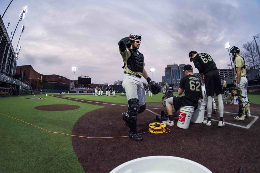 Vanderbilt kicked off its 2019 Black and Gold scrimmage with a close 3-2 victory for Gold on Thursday night. (Hustler Multimedia/Brent Szklaruk)
