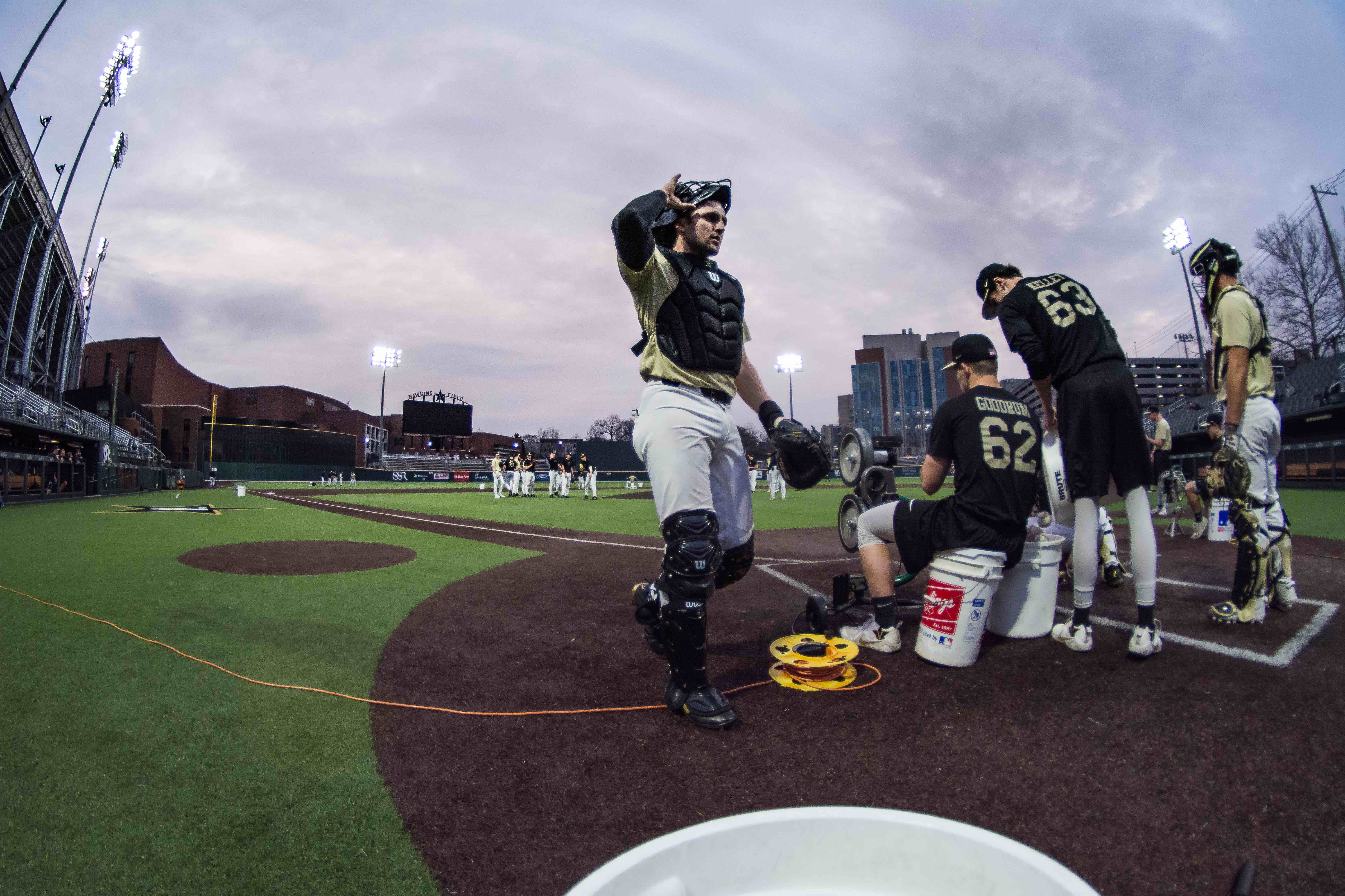 Keegan, Rodriguez power Gold Team to win in opening game of Black and Gold Series