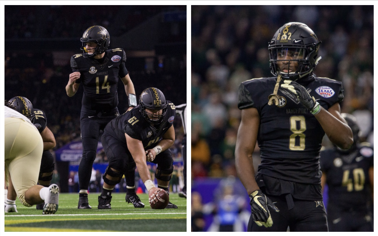 Vanderbilt Football's Kyle Shurmur and Joejuan Williams invited to NFL Scouting Combine