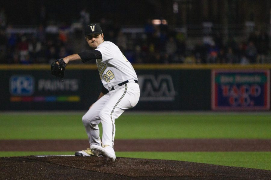 The Vandy Boys beat Florida 15-2 on March 22, 2019. (Photo by Hunter Long)