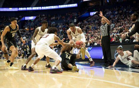 Vanderbilt falls 69-52 to Texas A&M in SEC tournament