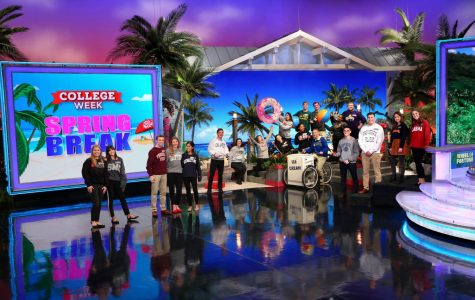 Sophomore Barton Christmas spins and wins in Wheel of Fortune debut